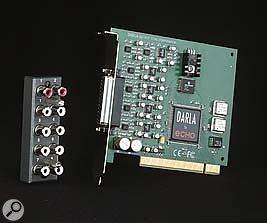 Echo Darla 20 sound card.