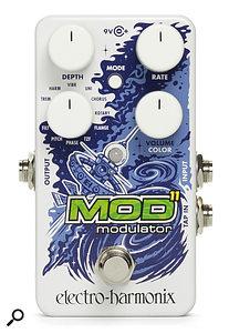Electro-Harmonix Mod 11 modulation pedal.