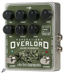Electro-Harmonix Operation Overlord Allied Overdrive.