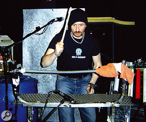 Einstürzende Neubauten prefer to play their chosen objects live, rather than take the easy route of sampling them.