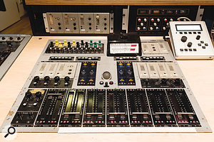 Based around V72 modules, the Deutsche Grammophon mixer was commissioned in 1957.