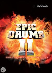 Big Fish Audio   Epic Drums II