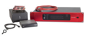 Focusrite's Dante-based RedNet system is the first Ethernet audio range targeted (in part) at the recording studio market.