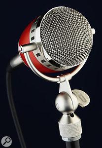 The Electrovoice Cardinal condenser microphone.