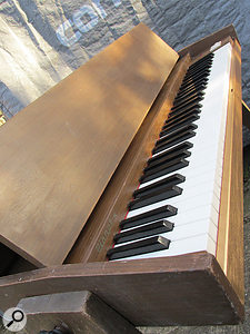 The Hohner Pianet (this is the T variant) acquired the reputation of being a  poor man's Rhodes, but a  well-maintained instrument can sound very good.