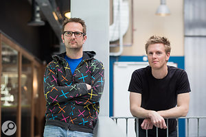 Fabfilter founders Frederik Slijkerman and Floris Klinkert