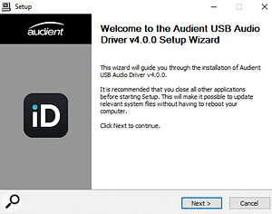 Most Windows music software uses the ASIO (Audio Streaming Input Output) protocol to communicate with the audio interface. As this is a third-party standard, you'll always need to install a driver before you can use your interface.