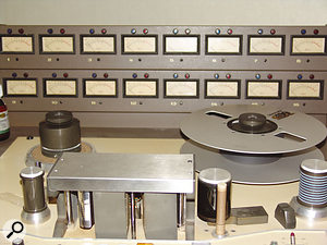 Franz Ferdinand's material was initially tracked to an MCI JH16 reel-to-reel recorder.