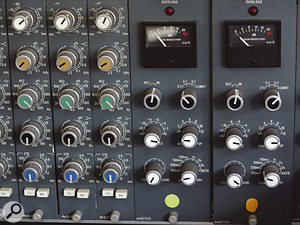 The Neve compressors were used in tandem with an 1176 to create Alex Kapranos's gritty vocal sound.