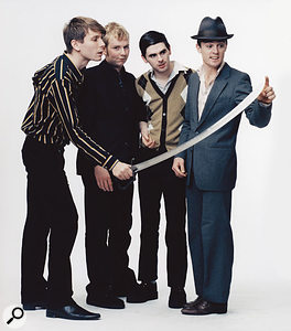 Franz Ferdinand, taking more than their musical influences from the early '80s...
