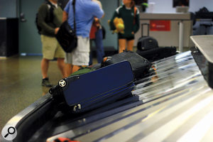 Air travel always brings the risk of losing your luggage — perhaps including recording gear! It always pays to have a compact 'Plan B' setup.
