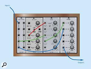 Figure 6: A simple, two-path chorus unit.