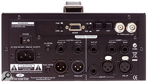 The optional A-D card fits easily into the ISA One and adds a range of digital output formats to the analogue ones that are already present on the preamp's rear panel.
