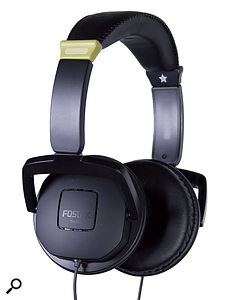 Fostex TH5BB studio headphones.