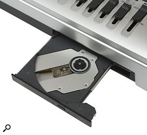 The CD writer is the only difference between the MR16HDCD and the slightly cheaper MR16HD. However, both units can be connected via USB to an external CD writer.