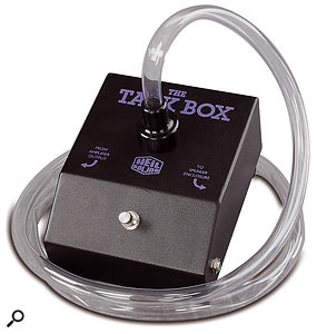 The guitar talkbox was famously used by Peter Frampton, Joe Walsh, Pink Floyd and others. As with other such mechanical effects, you can improvise some interesting DIY alternatives.