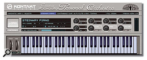 The stand-alone version of Kontakt Player supplied with GPO.