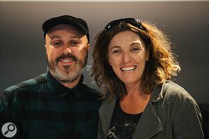 Gethin Pearson & Lisa Fitzgibbon