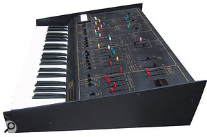 The ARP Odyssey on which the Oddity was modelled.