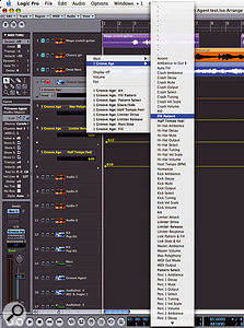 Activating automation on a track containing Groove Agent 2 brings up all of the instrument's parameters ready for automation.
