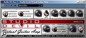The Studio Devil Virtual Guitar Amp offers a very respectable sound for the price.