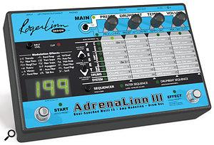 Roger Linn Adrenalinn III, Axon PU100, Emerson Williams Bluestone Pro