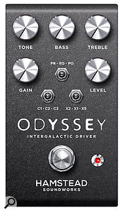 Hamstead Soundworks Odyssey Analogue Overdrive Pedal.