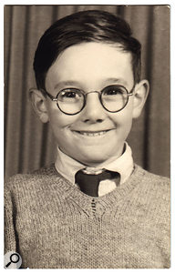 The young Trevor Horn at primary school.