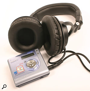 It's easy to go overboard on recording gear, but the main need is to keep things simple and portable. A Minidisc recorder, a camcorder mic and a set of closed-back headphones may be enough.