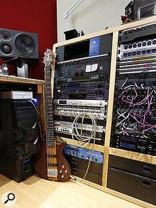 Studio SOS June 2020 - rack bays 1 and 2 close-up.