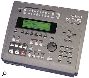 There's a lot of choice when it comes to hardware capable of playing back MIDI sequences on stage, including units that incorporate sound modules (for example, the Roland MC80) or phrase samplers like the Akai MPC2000XL.