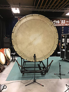 Now that's what I  call a bass drum: Japanese taiko drumming group Circle Percussion provided many of the rhythmic elements in the soundtrack.