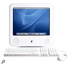 The eMac is the cheapest Mac in Apple's product line and could be useful for those who want to use a Mac-based sequencer for controlling external MIDI gear.