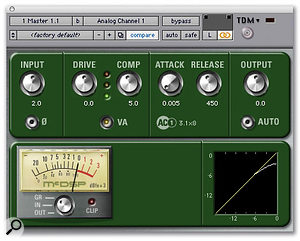 The mix of 'Unfaithful' was processed with McDSP's Analog Channel to provide additional warmth.