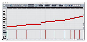 Various options are available for mapping the slices of a loop to MIDI notes.