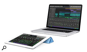 Apple iPad Logic Pro X remote