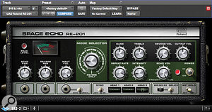 The UAD Roland Space Echo plug-in saw plenty of action in Greg Fidelman's mix.
