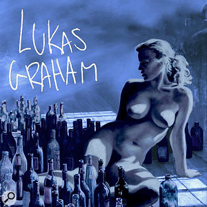 Lukas Graham's second album was first released in Denmark, then later worldwide, with a slightly less blue cover (right)!