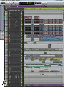 This composite screen capture shows the Edit window for 'Prayers/Triangles'.