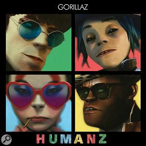 Gorillaz Humanz album cover.