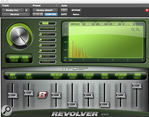 McDSP's Revolver was used to create a  'PA' effect on Bradley Cooper's dialogue track.