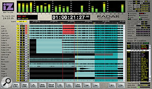 Far more than asimple hard-disk recorder, the RADAR 6 allows quite sophisticated editing of multitrack recordings.