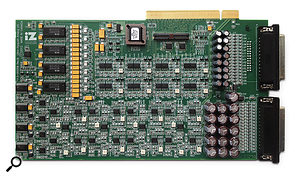 The 192kHz Ultra Nyquist converter card, which can be used with either the RADAR 6 or the ADA II.