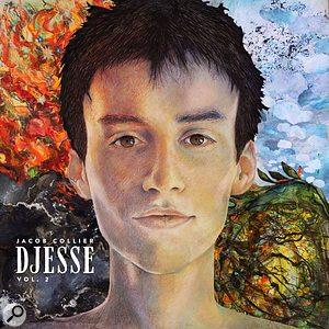Djesse Vol 2 album cover. Original image created by artist Astrig Akseralian.