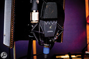 Where many producers favour exotic vintage microphones, Jake Gosling uses the SE Electronics range almost exclusively.