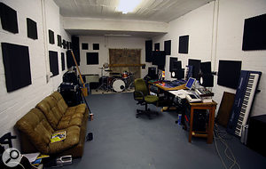 Jim Moray's Bristol studio.