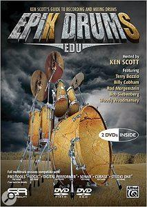Ken Scott Epik DrumS tutorial DVDs.