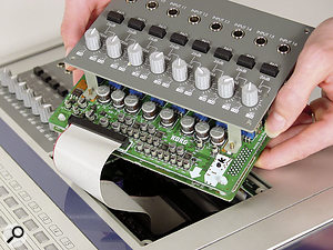 Both D32XD and D16XD can have an optional analogue input expansion fitted by the user, with or without a further eight-channel analogue compressor board.