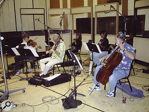 Two tracks on the album feature string arrangements by David Campbell, recorded at LA's Ocean Way Studios.