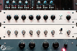 Larrabee hosts the largest collection of vintage Motown EQs in the world.